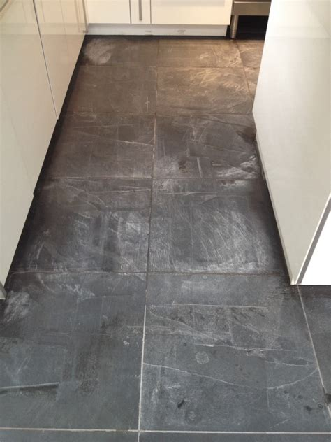 How To Clean A Slate Floor by Kitchen Floor Restoration Glasgow Tile Doctor
