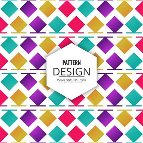 modern pattern vector ai modern pattern of colored squares and lines vector free