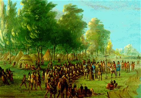 indians of arkansas: indians and colonists