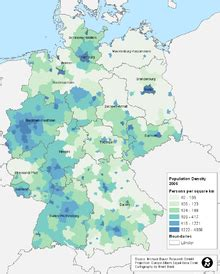 demographics of germany wikipedia