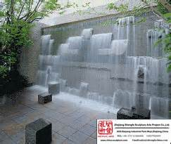 Backyard Water Feature Designs Water Wall Fountain Small House Plans Modern