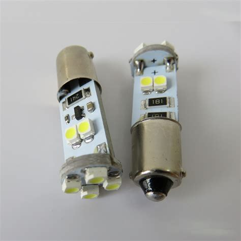 2pcs canbus ba9s led 12v car light t4w bulb interior