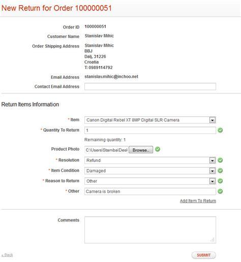 magento enterprise return management authorization rma