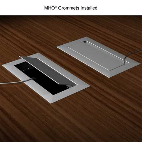 Desk Wire Grommets by Mho Desk Cable Grommet Cableorganizer