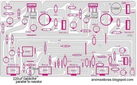 Tone Stereo Bifet Jrc4558 Midrange built tda2003 stereo lifier with tone 20 watts 10 10