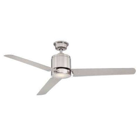 escape ii 60 in led brushed nickel ceiling fan nickel ceiling fans ceiling fans accessories the