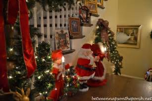 Christmas Decorations In Home by Governor Roy And Marie Barnes Home Decorated For Christmas