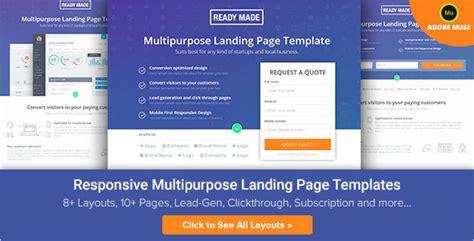20 University Landing Page Templates Free Premium Caign Landing Page Templates