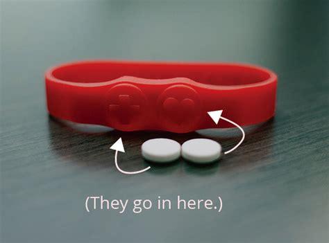 "Beatfirst Pill Holder Bracelet   Item 305 (7""), Item 306 (8"")   ForgettingThePill.com"