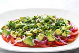 tomato onion avocado salad recipe simplyrecipes com