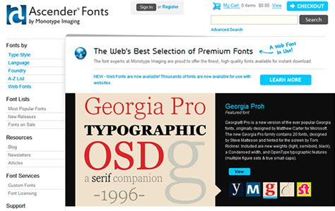 best websites for free fonts 20 of the best free and premium font websites