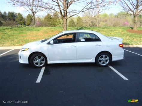2012 Toyota Corolla S White White 2012 Toyota Corolla S Exterior Photo 65737279