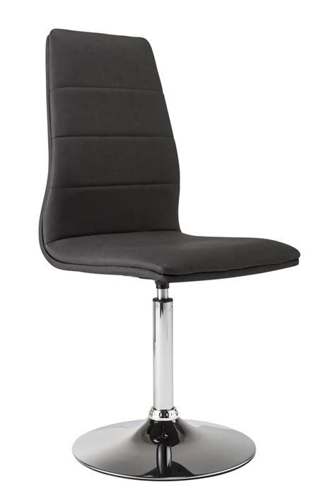 chaise pivotant chaise de salle 224 manger pivotante coloris noir lot de 2