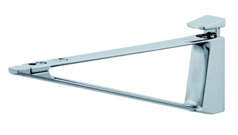hafele 287 76 910 glass shelf support zinc 4 45mm