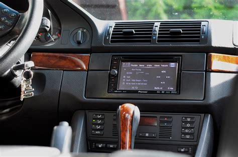 bmw e39 540 7u dash car dvd player gps nav system my e39 din build avic janus