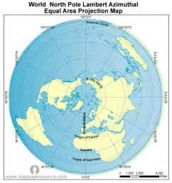 Map Of The World North Pole north pole world map world north pole lambert