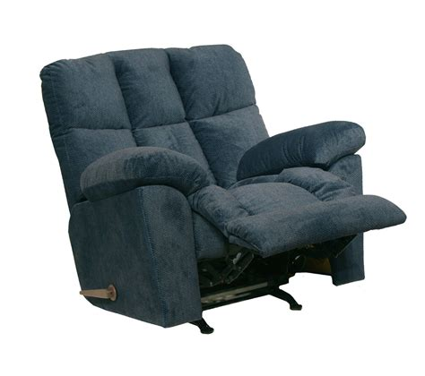 super comfort recliner chaise catnapper pegasus chaise rocker recliner midnight ocean