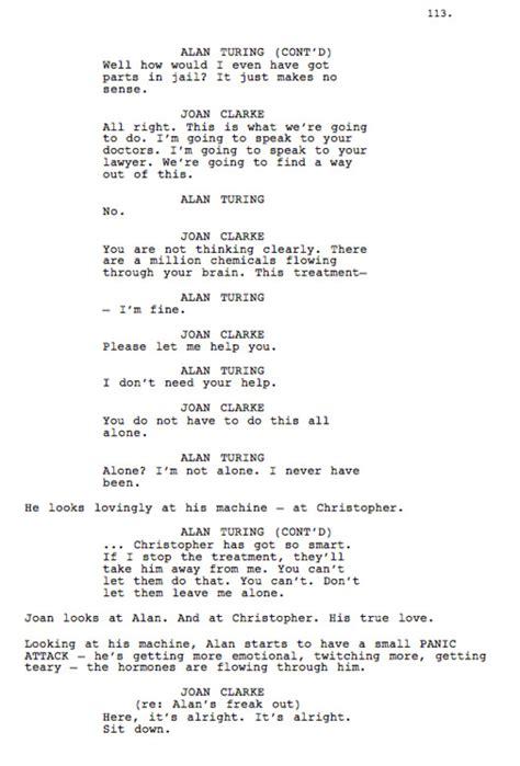 biography movie script image gallery sad monologues