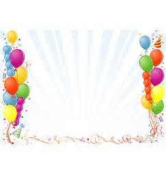 happy birthday photo frame template birthday frame vector on vectorstock karten