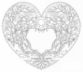 coloring pages for adults hearts free printable for tree coloring pages cooloring