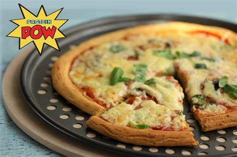protein pizza protein pizza gluten free protein pow