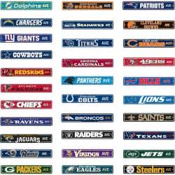Putting Green In Backyard Nfl Street Sign Choose Your Favorite Team Name 4 Quot X24
