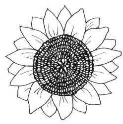 sunflower printable template sunflower coloring pages and printables