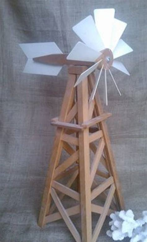Handmade Windmill - model windmill 25 quot woodwork