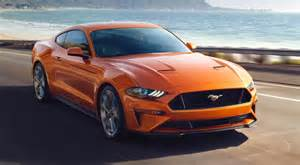 Ford Mustang 2018 2018 Ford Mustang Performance Design And Redesign