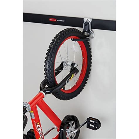 Rubbermaid Bike Rack by Rubbermaid Fasttrack Garage Storage System Vertical Bike