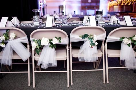 tulle chair sashes diy do it yourself wedding chair decorations make a