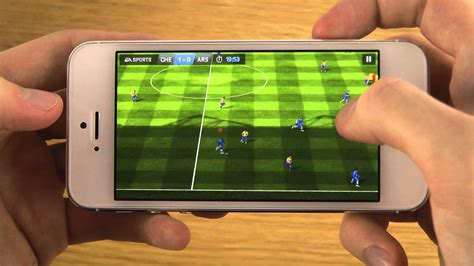 mobile xvideo fifa 14 sur iphone le gameplay jeux vid 233 o mobiles