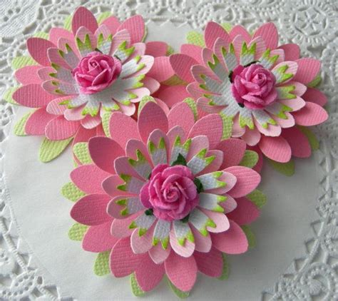 tutorial paper flowers scrapbooking 97 best handmade flowers tutorials images on pinterest