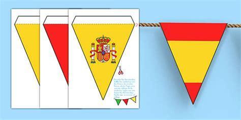 printable spanish flag bunting spanish flag bunting spanish flag bunting flag bunting