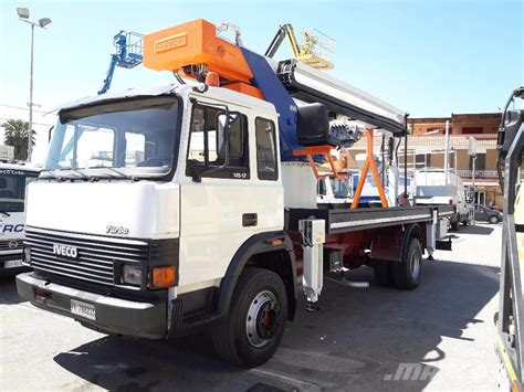 used iveco fiat 145 telescopic boom lifts year 1989 price