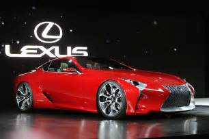 look lexus lf lc breaks cover at detroit forcegt