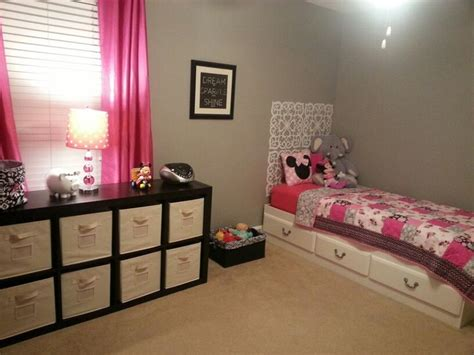 minnie mouse room and decor baby grey