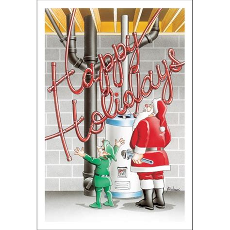 Happy Pipes Plumbing by Happy Holidays In Plumbing Pipe Paul Oxman Publishing