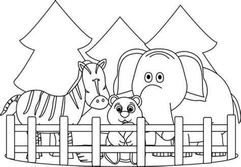Outlines Zoo Station Remix by Black And White Zoo Clip Black And White Zoo Image