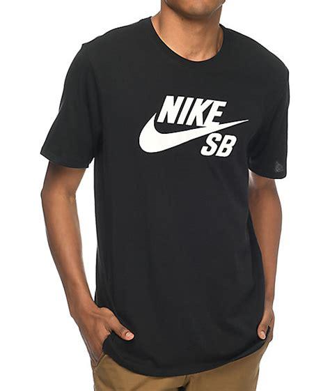 Nike Logo T Shirt nike sb logo black t shirt zumiez