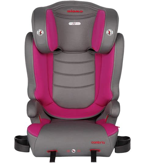 booster seat with backrest diono cambria high back booster car seat raspberry