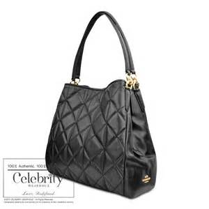 coach phoebe shoulder bag in quilted leather black
