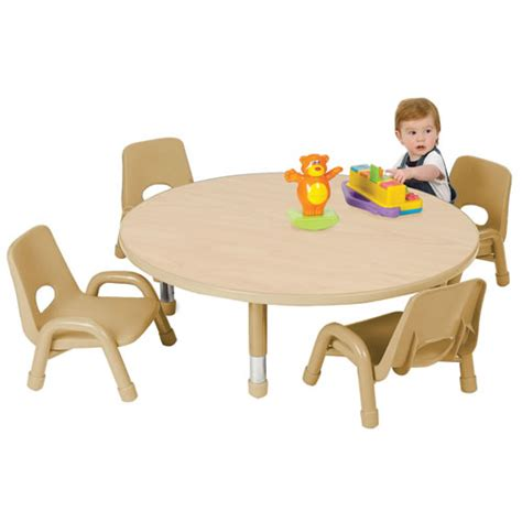 low toddler table and chairs nature color toddler tables 32 quot seats 4