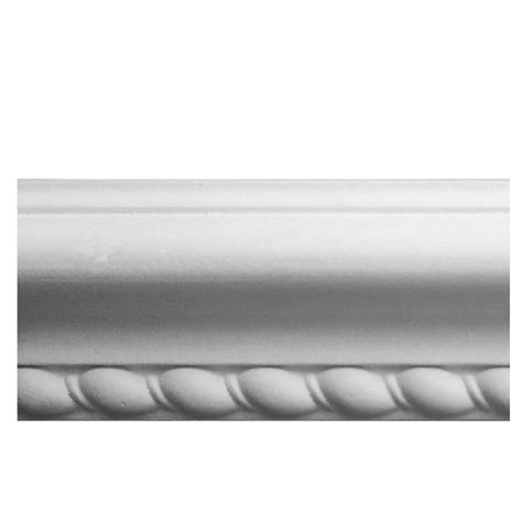 plastic chair rail moulding evertrue 0 9375 in x 2 375 in x 8 ft interior paint grade
