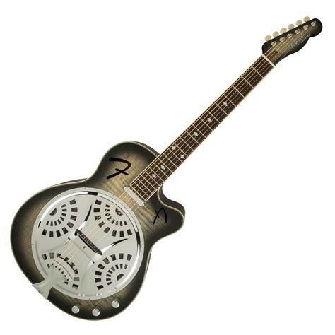 nearly new fender roosevelt resonator guitar nearly new at