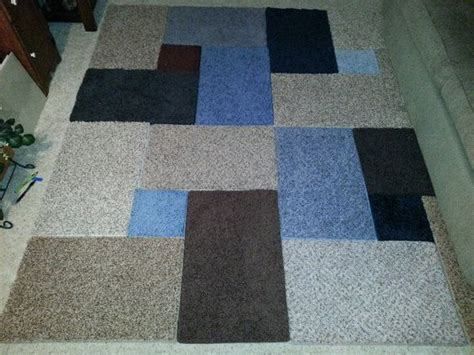 Putting Two Rugs Together by Make Rugs From Free Carpet Sles An Easy Diy Project