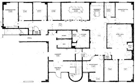 draw office floor plan office building plans