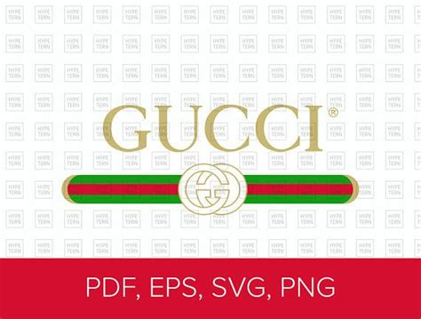 gucci washed inspired logo vector art  eps svg png