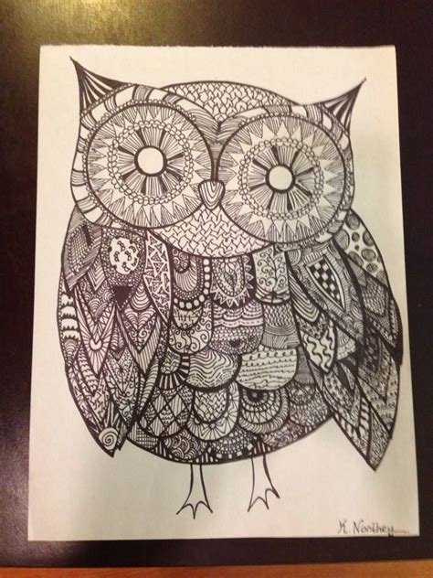 doodle draw owl pin by barbara guzzo on sharpies doodles and lettering