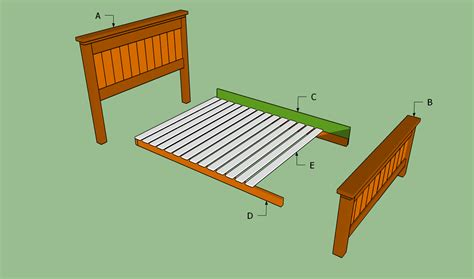 Bed Frame To Build How To Build A Size Bed Frame Howtospecialist